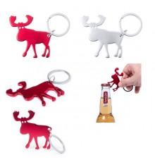 """Porte clé ouvre bouteille """"Pudox"""" de coloris différents"""