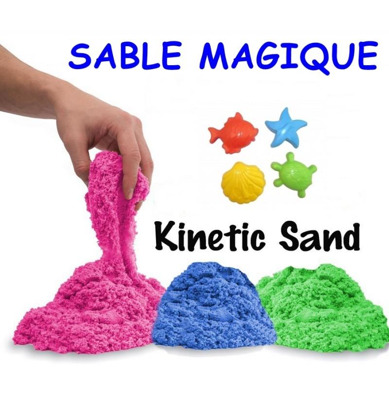 sable magique kinetic sand. Black Bedroom Furniture Sets. Home Design Ideas