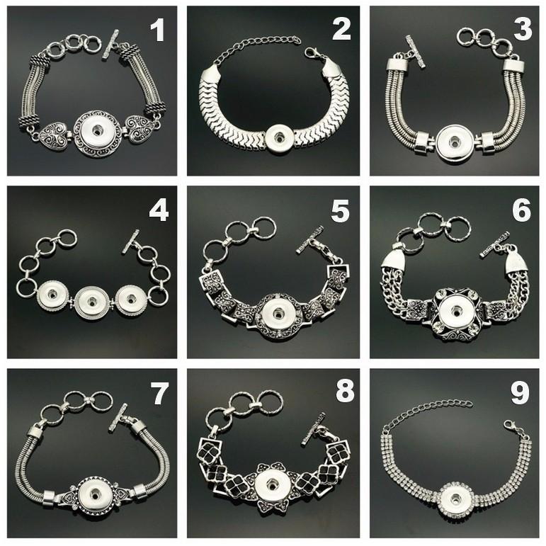 Bracelet pour bouton pression