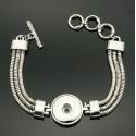 Bracelet bouton de pression
