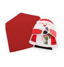 "Carte de Noel avec Enveloppe ""Poxtal"""