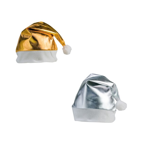 Bonnet Père Noël Shiny en Polyester