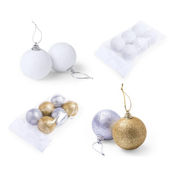 Set de 6 Boules de Noel Yenkit