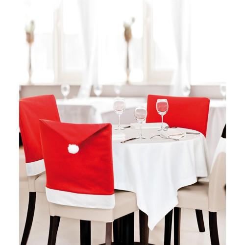 Housse de Chaise Kunax de Couleurs Rouge/Blanc