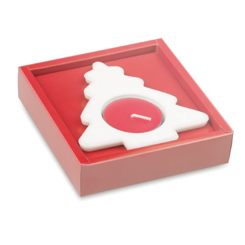 Bougie de Noël Urin avec Base en Céramique
