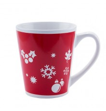 Mug Framel en Céramique avec Motif Noel