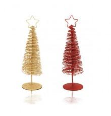 Arbre de Noël Dido Doré et Rouge
