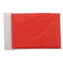 Poncho Remo Rouge