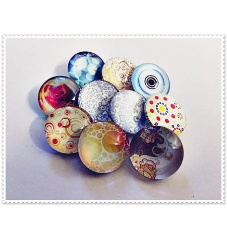 Lot de 10 boutons pression rêves 18mm