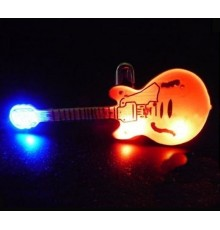 Badge LED Guitare