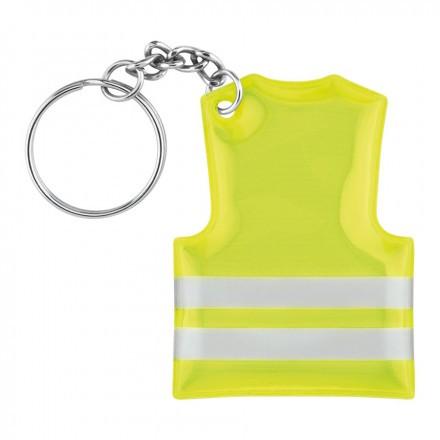 Porte-clés gilet jaune