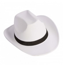 Chapeau Cow-boy Personnalisable Blanc