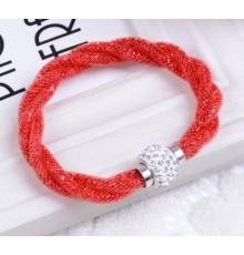 Bracelet strass rouge