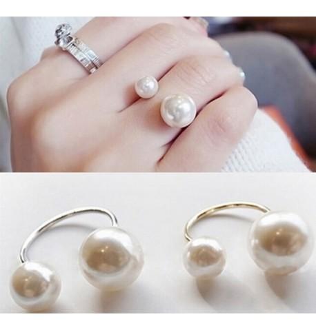 Bague perles