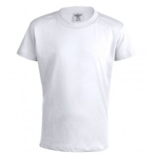 T-Shirt Blanc -Keya- pour Enfant en Coton