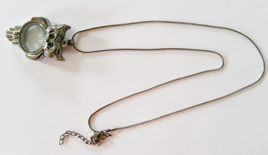 Collier avec pendentif hiboux personnalisable