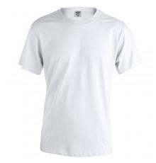T-Shirt pour Adulte Blanc -Keya- en Coton Épais