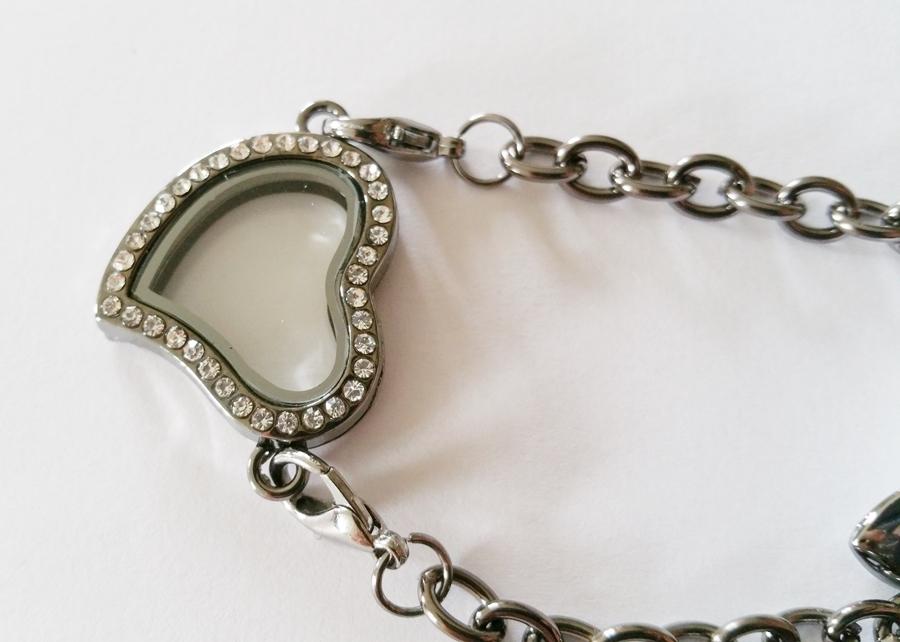 Bracelet coeur personnalisable