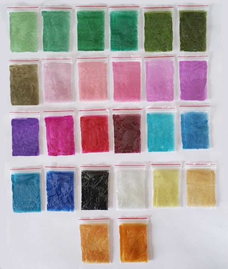 Nano billes transparentes (caviar) pour bijoux