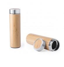 Bidon Moltex en Bambou et en Acier Inox