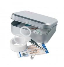 Trousse de soins en fer-blanc avec 9 outils