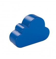 Anti-stress en forme de nuage à deux couleurs