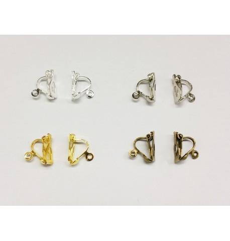 Support boucles d'oreilles clip