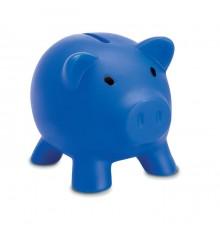 Tirelire cochon en en PVC avec bouchon ABS