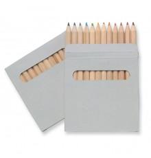 Etui 12 Crayons de Couleur