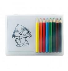 Set de crayons de coloriage et papiers à dessins