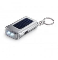 Ensemble de porte-clés et torche solaire