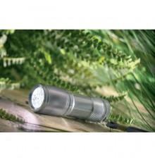 Torche en métal à 9 lumières blanches LED