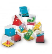 Assortiment de jeux de puzzle ou jeux de patience à multicolores
