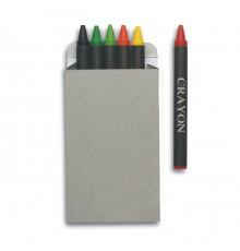 Lot de 6 Crayons de Cire