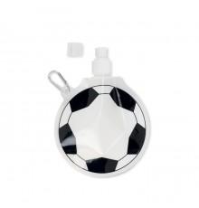 Bouteille d'eau pliable en forme de ballon de football en plastique