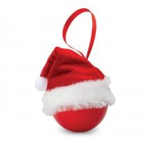 Boule avec Bonnet de Père Noël