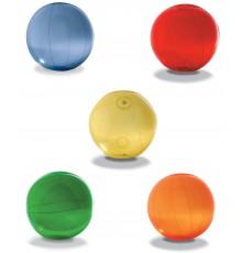 5 couleurs de ballon de plage en PVC