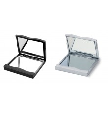 Miroir à double face en plastique et à deux couleurs différentes
