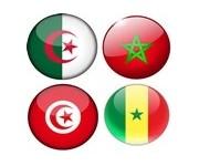 Algerie, Maroc, Tunisie, Sénégale