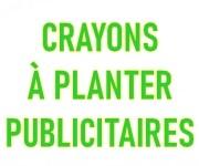 Crayons à graines à planter éco