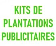Kits de plantation publicitaires éco