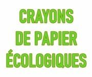 Crayons de papier éco