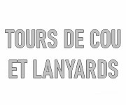 Portes-badge lanyards et tours de cou