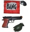 Divers pistolets