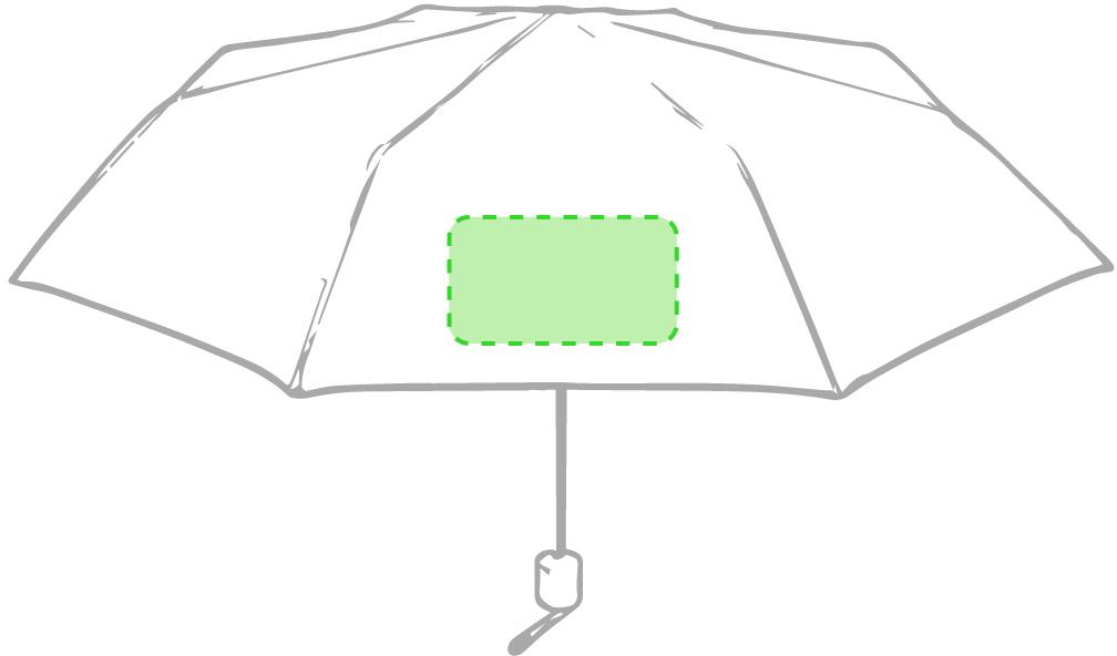 Marquage Parapluie mint
