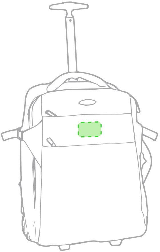 Marquage Sac à dos trolley kuman
