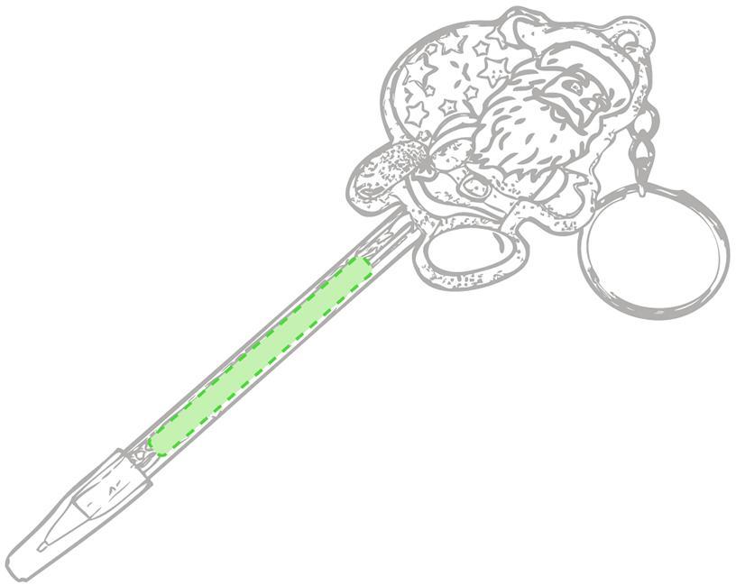 Marquage Porte-clés stylo zarki