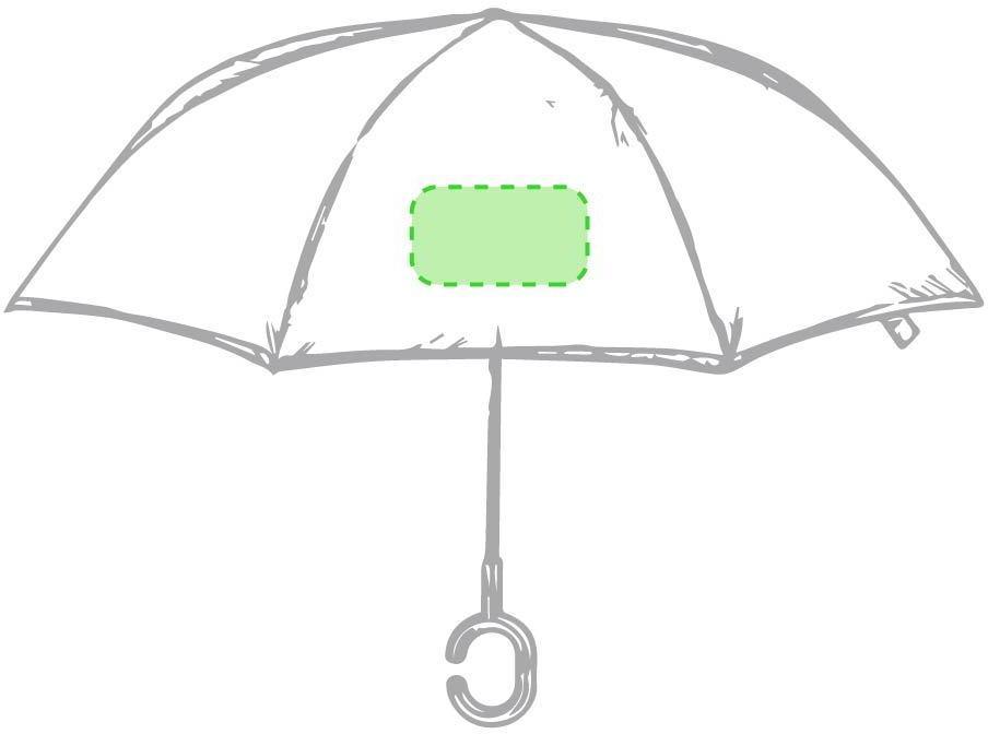 Marquage Parapluie réversible hamfrey