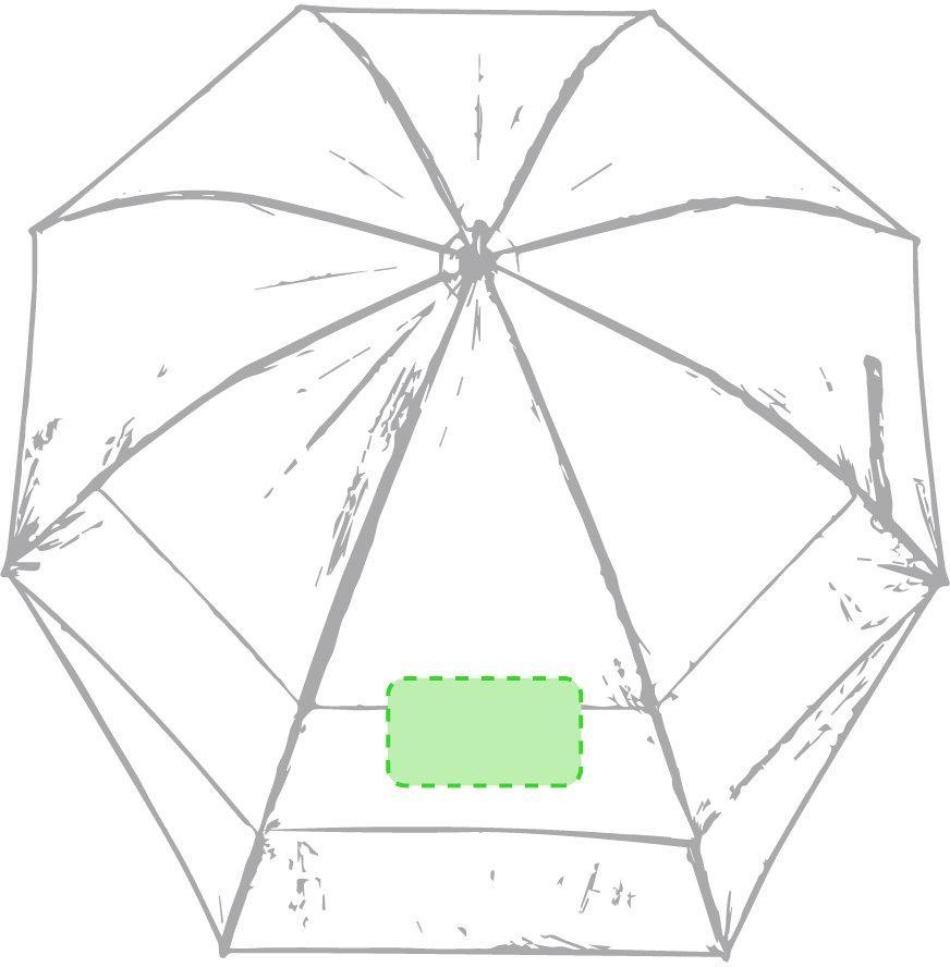 Marquage Parapluie extensible kolper