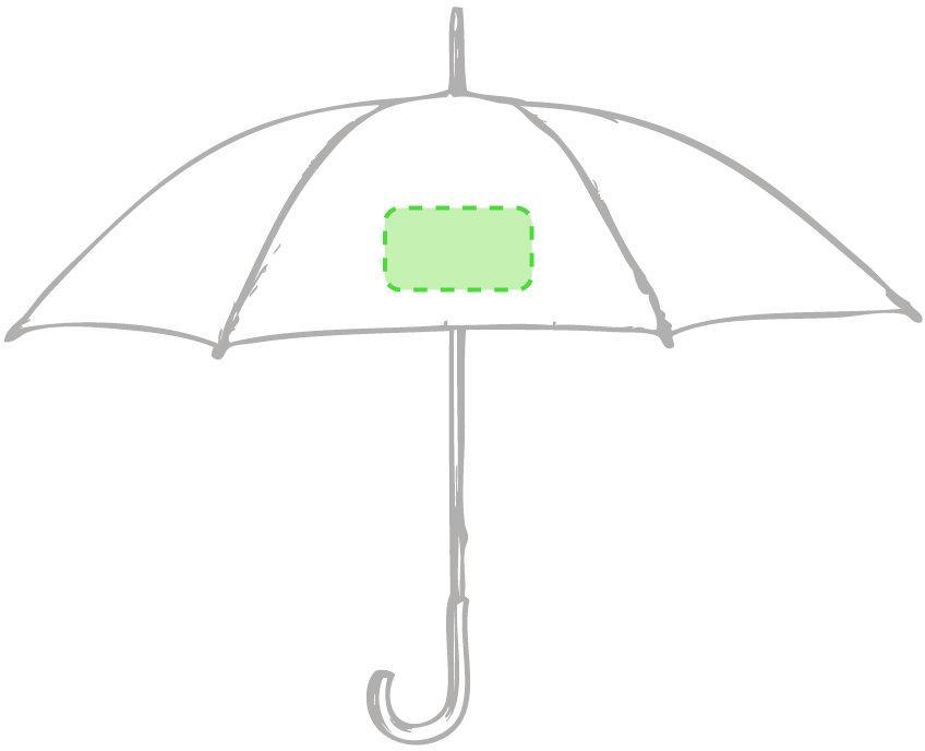 Marquage Parapluie santy